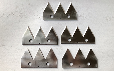 Pointed Tip Blades